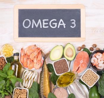 Livsmedel som innehåller mycket Omega 3 fettsyror