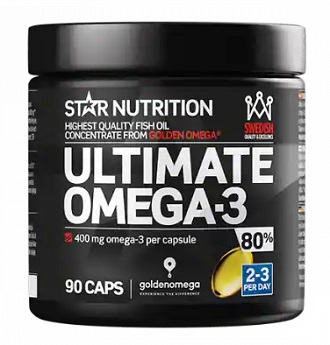 Bästa fiskoljan från märket Star Nutrition